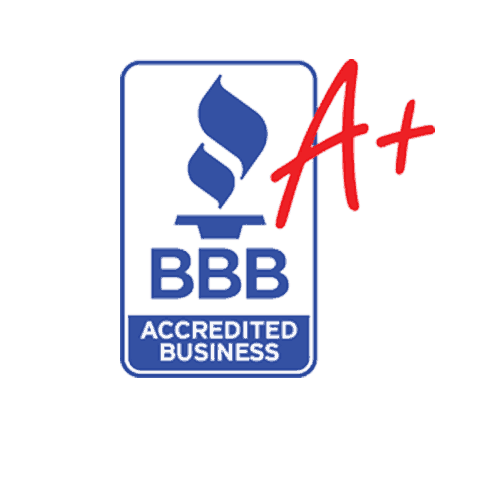 A+ Rating With BBB Accredited Business